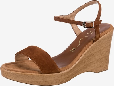 UNISA Sandalette 'Rita' in cognac, Produktansicht