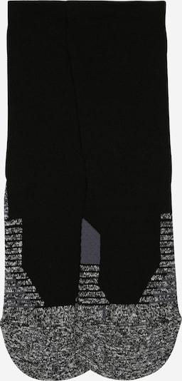 UNDER ARMOUR Chaussettes de sport en gris / noir, Vue avec produit