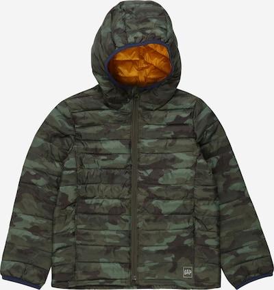 GAP Prehodna jakna | zelena / oliva / jelka barva, Prikaz izdelka