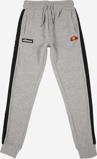 ELLESSE Pantalon 'Decano' en gris chiné / noir, Vue avec produit