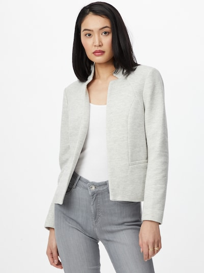 ONLY Blazer 'ADDY-LINEA' en gris claro, Vista del modelo