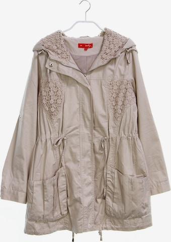 Derhy Jacket & Coat in M in Beige
