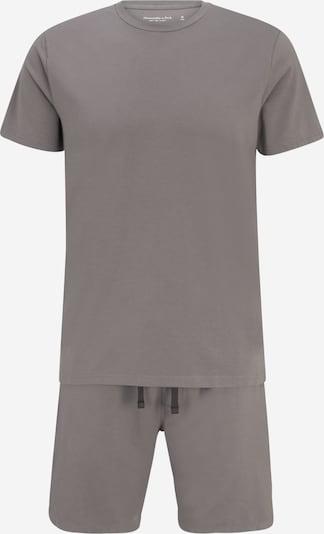 Abercrombie & Fitch Pyjama kort in de kleur Grijs, Productweergave