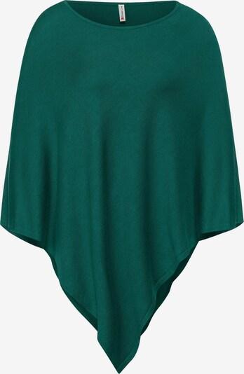 STREET ONE Poncho in smaragd, Produktansicht