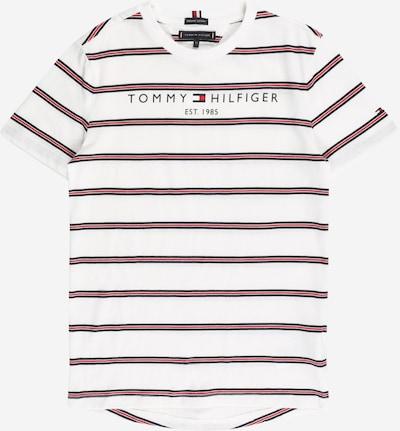 TOMMY HILFIGER T-Shirt in marine / rot / weiß, Produktansicht