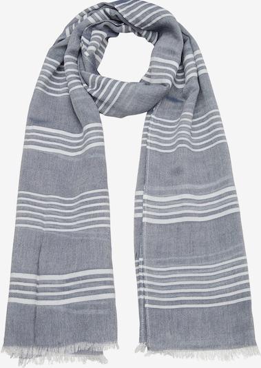 s.Oliver Sjaal in de kleur Duifblauw / Wit, Productweergave