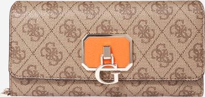 GUESS Porte-monnaies 'ALISA' en marron / noisette / orange, Vue avec produit