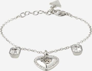GUESS Bracelet 'HEART' in Silver