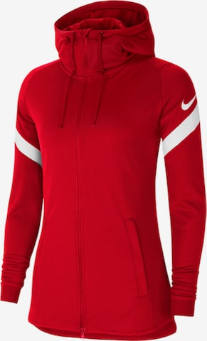 NIKE Athletic Jacket in Red