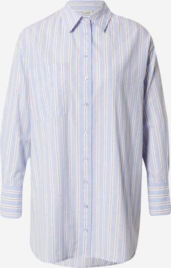 Pimkie Bluse 'SVIRMA' in hellblau / rot / weiß, Produktansicht
