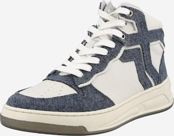 Sneaker înalt 'Old-Cosmo' de la BRONX pe albastru