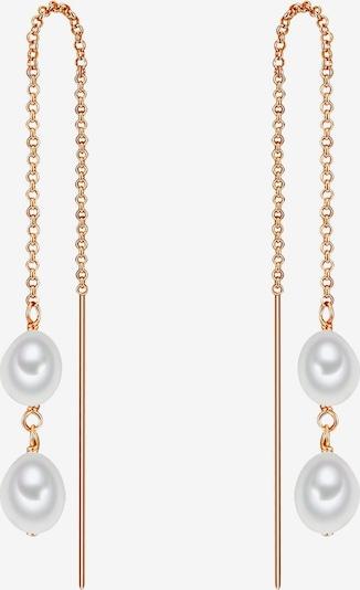 Valero Pearls Perlen-Ohrhänger in rosegold, Produktansicht