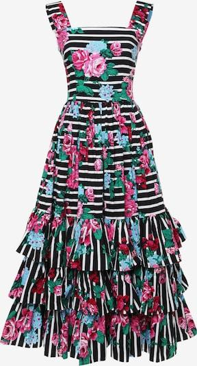 Madam-T Sommerkleid 'NICOLA' in pink / schwarz / weiß, Produktansicht