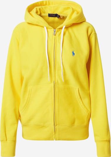 POLO RALPH LAUREN Sudadera con cremallera en azul / amarillo, Vista del producto