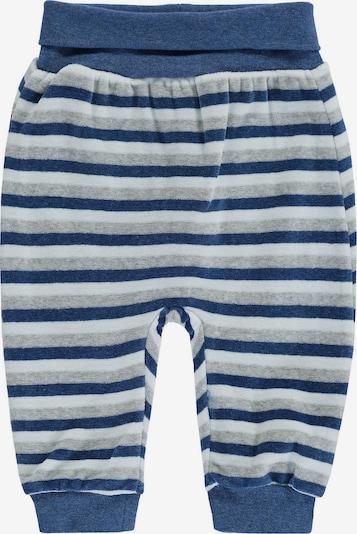 BELLYBUTTON Hose in blau / hellgrau / weiß, Produktansicht
