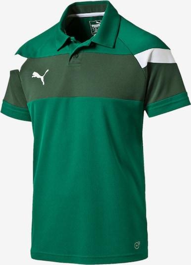 PUMA Poloshirt in grün / tanne, Produktansicht