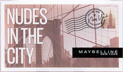 """MAYBELLINE New York Lidschatten-Palette """"Nudes In The City"""" in mischfarben, Produktansicht"""