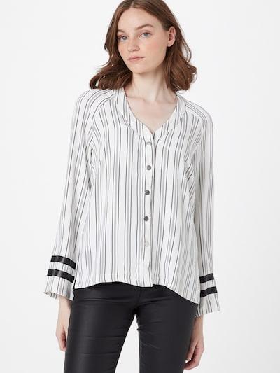 Pimkie Bluse 'STANKEE' in rot / schwarz / weiß, Modelansicht