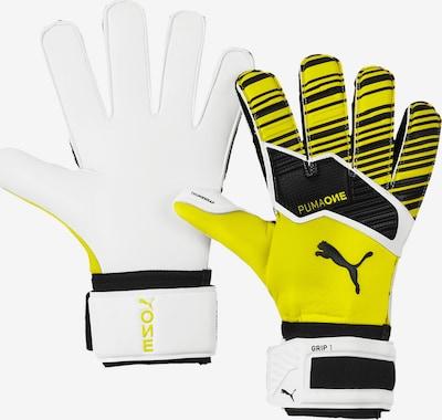 PUMA Handschuh in gelb / weiß, Produktansicht