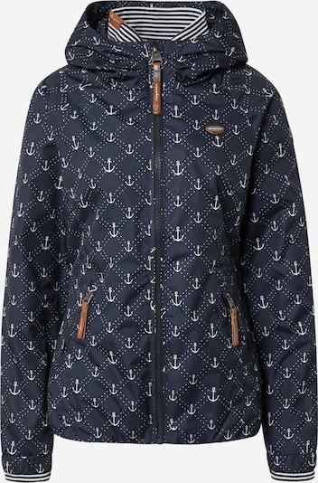 Ragwear Toiminnallinen takki 'Dizzie Marina' värissä tummansininen / valkoinen, Tuotenäkymä