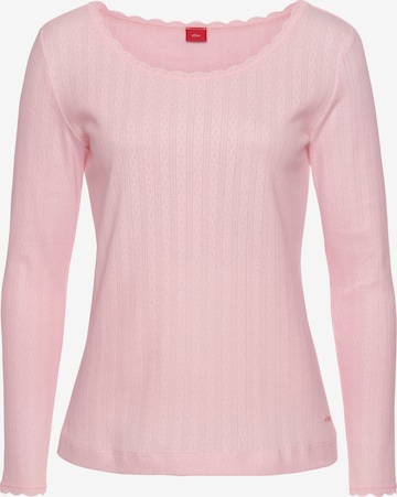 s.Oliver Shirt in Pink