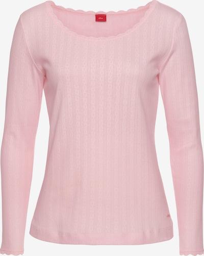 s.Oliver Shirt in rosa / hellpink, Produktansicht