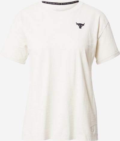 Tricou funcțional 'Project Rock CC SS' UNDER ARMOUR pe negru / alb, Vizualizare produs