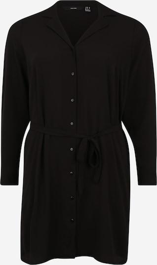 Vero Moda Curve Robe-chemise 'Saga' en noir, Vue avec produit