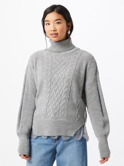 Trendyol Pullover i grå, Modelvisning