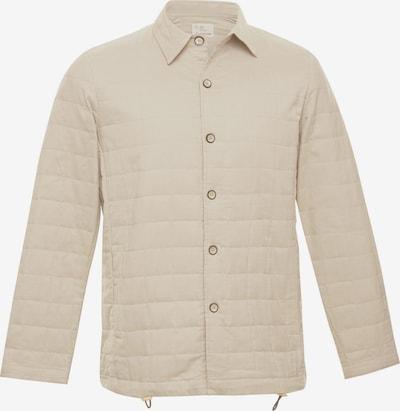 TERRA LUNA Gesteppte und gefütterte Jacke LOAF mit Seitentasche in BIO-Baumwolle handgewebt in beige, Produktansicht