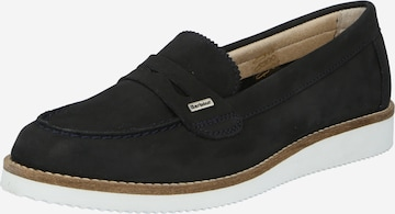 Barbour Classic Flats 'Freda' in Blue