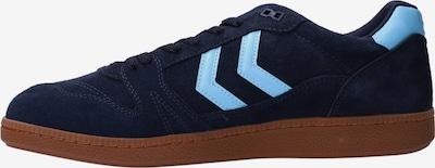 Hummel Sneaker in azur: Frontalansicht