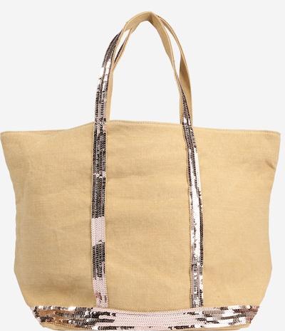 Vanessa Bruno Shopper 'CABAS' in beige / silbergrau, Produktansicht