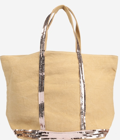 Vanessa Bruno Torba shopper 'CABAS' w kolorze beżowy / srebrno-szarym, Podgląd produktu