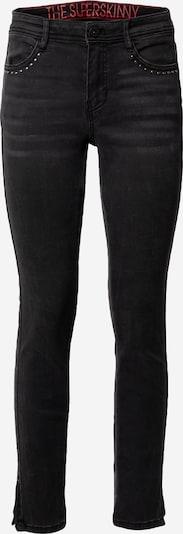 TAIFUN Jeans in black denim: Frontalansicht