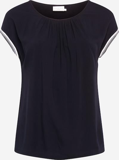KAFFE CURVE Bluse 'Boline' in schwarz / weiß, Produktansicht