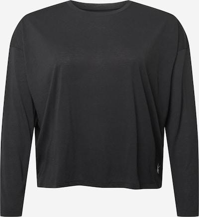 Reebok Sport Λειτουργικό μπλουζάκι σε μαύρο / λευκό, Άποψη προϊόντος