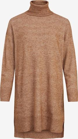 VILA Sweater 'Ella' in Brown