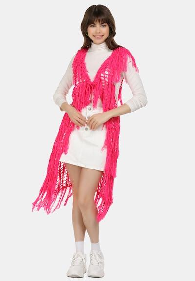 MYMO Weste in neonpink, Modelansicht