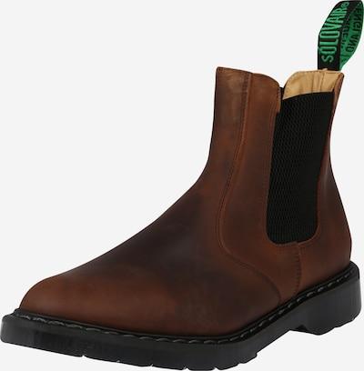 Solovair Chelsea Boots 'Dealer' in rostbraun, Produktansicht