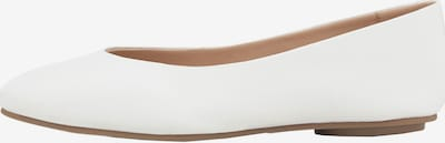 Another A Ballerinas Leder-Ballerina in weiß, Produktansicht