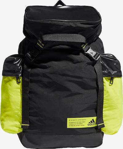 ADIDAS PERFORMANCE Rucksack in neongelb / schwarz, Produktansicht