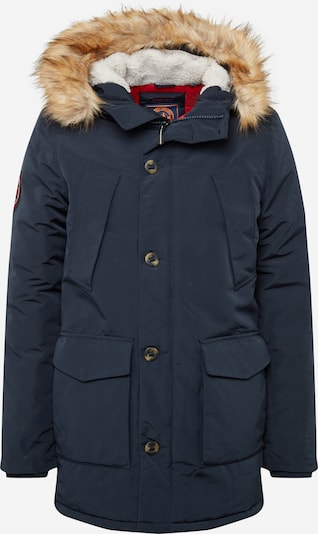 Superdry Winterparka 'Everest' in de kleur Marine, Productweergave