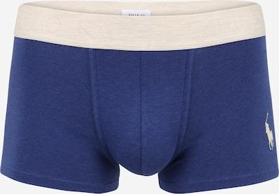 POLO RALPH LAUREN Boxers 'SOLID' en crème / bleu foncé, Vue avec produit