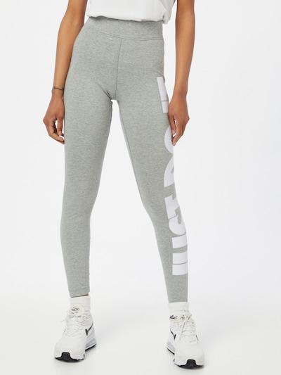 Nike Sportswear Leggings in de kleur Lichtgrijs, Modelweergave