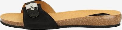 SCHOLL Pantoletten in schwarz, Produktansicht