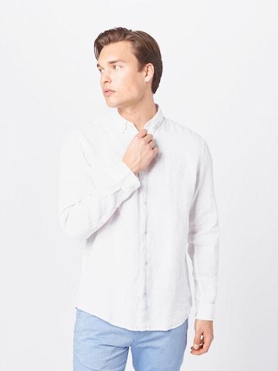 ESPRIT Overhemd in de kleur Wit: Vooraanzicht