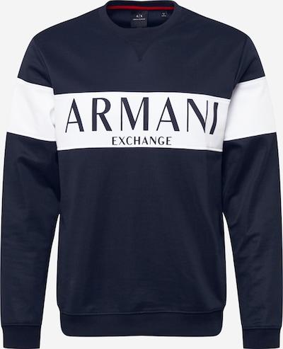 ARMANI EXCHANGE Sweatshirt '3HZMAE' in navy / weiß, Produktansicht