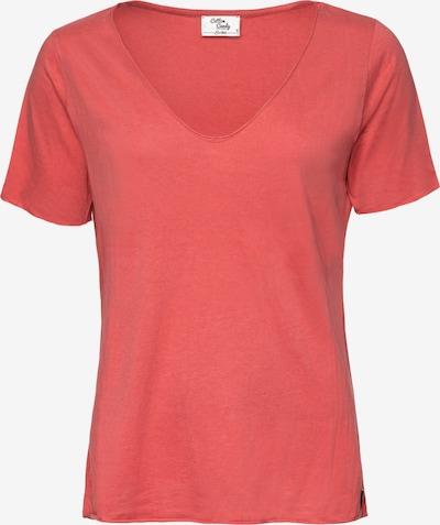 Cotton Candy T-Shirt 'Nivia' in koralle, Produktansicht