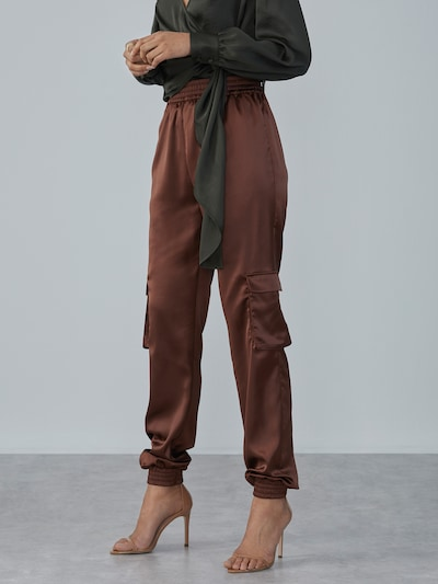 LeGer by Lena Gercke Trousers 'Leni' in brown, View model